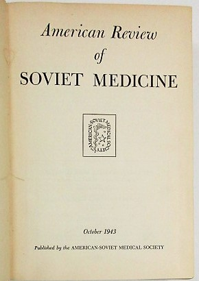 THE ROLE OF SOVIET INVESTIGATORS IN THE DEVELOPMENT OF THE BLOOD BANK. [IN] AMERICAN REVIEW OF SOVIET MEDICINE, APRIL 1944. Charles Drew.