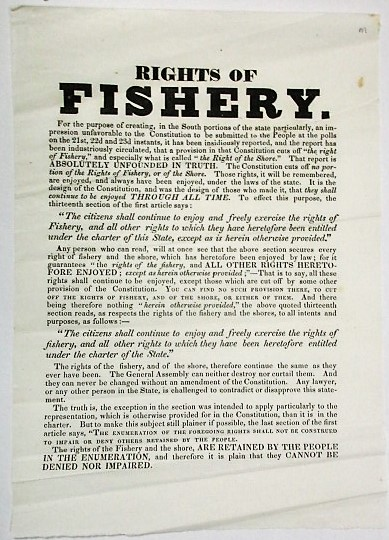 RIGHTS OF FISHERY. Rhode Island.
