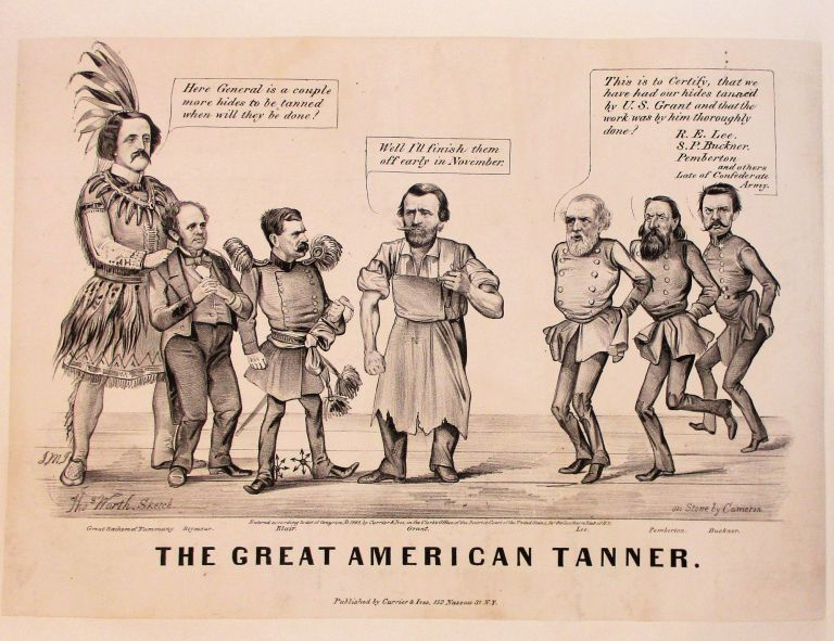 THE GREAT AMERICAN TANNER. Ulysses S. Grant, Election of 1868.