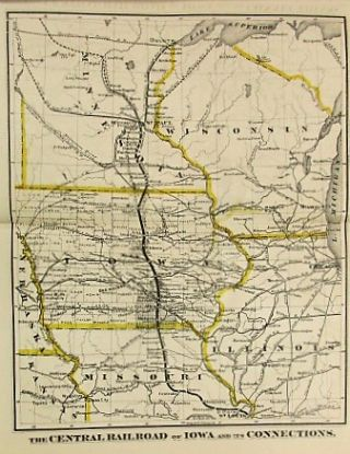 THE CENTRAL RAILROAD OF IOWA, TWO HUNDRED AND FORTY MILES IN LENGTH, FORMING, WITH ITS CONNECTIONS, A DIRECT AND UNBROKEN LINE FROM ST. LOUIS TO ST. PAUL. VALUE AND SECURITY OF ITS FIRST MORTGAGE 7 PER CT. GOLD BONDS.