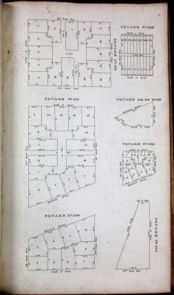 MAPS OF THE DISTRICT OF COLUMBIA AND CITY OF WASHINGTON AND PLATS OF THE SQUARES AND LOTS OF THE CITY OF WASHINGTON. PRINTED IN PURSUANCE OF A RESOLUTION OF THE SENATE OF THE UNITED STATES.