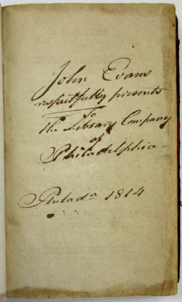 A NARRATIVE OF THE PROCEEDINGS OF THE RELIGIOUS SOCIETY OF THE PEOPLE CALLED QUAKERS, IN PHILADELPHIA, AGAINST JOHN EVANS. TO WHICH IS ADDED: A REPORT OF THE EVIDENCE DELIVERED ON THE TRIAL OF THE CASE OF JOHN EVANS, VERSUS ELLIS YARNALL AND OTHERS: WITH AN APPENDIX, COMPILED UNDER THE DIRECTION OF JOHN EVANS. John Evans.