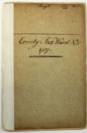 COUNTY TAX WARD NO. 5. 1787. Boston