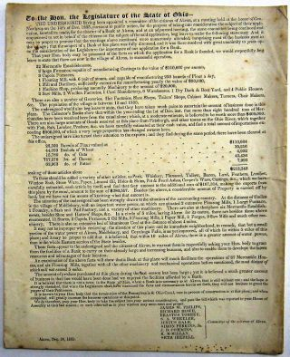 TO THE HON. THE LEGISLATURE OF THE STATE OF OHIO-- THE UNDERSIGNED HAVING BEEN APPOINTED A...
