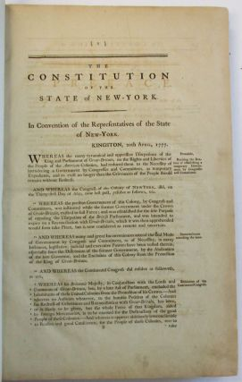 LAWS OF THE STATE OF NEW-YORK, COMPRISING THE CONSTITUTION, AND THE ACTS OF THE LEGISLATURE SINCE THE REVOLUTION, FROM THE FIRST TO THE TWELFTH SESSION, INCLUSIVE. PUBLISHED ACCORDING TO AN ACT OF THE LEGISLATURE, PASSED THE 15TH APRIL, 1786. IN TWO VOLUMES.