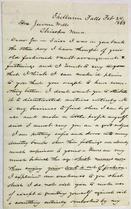 AUTOGRAPH LETTER SIGNED, WITH DETAILED ILLUSTRATION ON THE FINAL PAGE, BY THE FAMED INVENTOR OF...
