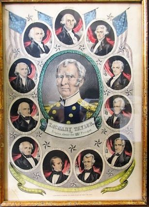 ZACHARY TAYLOR, THE PEOPLE'S CHOICE FOR 12TH PRESIDENT. Nathaniel Currier.
