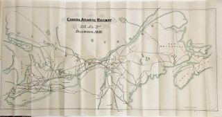 THE CANADA ATLANTIC RAILWAY COMPANY. INCORPORATED BY THE PARLIAMENT OF CANADA. CONTENTS. MAP OF THE RAILWAY. REPORT OF W. SHANLY, C.E. TRUST MORTGAGE DEED TO SECURE FIRST MORTGAGE BONDS. ACTS OF INCORPORATION OF THE RAILWAY.
