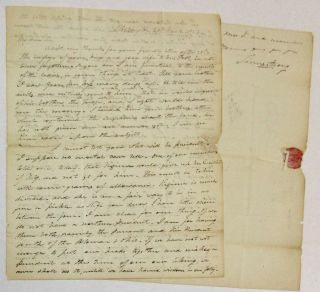 AUTOGRAPH LETTER SIGNED, DATED WASHINGTON, 29 MARCH 1824, FROM NEW YORK CONGRESSMAN JAMES STRONG...