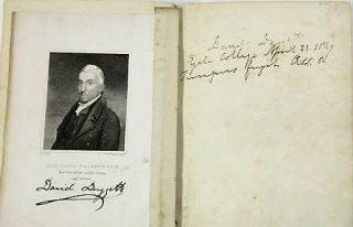 AUTOGRAPH AND PORTRAIT ALBUM COMPILED BY HENRY BLODGET, A MEMBER OF YALE'S CLASS OF 1848.