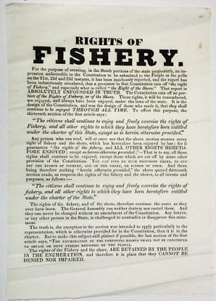 RIGHTS OF FISHERY. Rhode Island