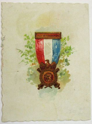INVITATION TO THE 5TH ANNUAL RECEPTION OF THE JOHN F. LITTLE CAMP, NO. 195, SONS OF VETERANS, TO BE HELD ON FEBRUARY 22, 1892, AT THE OPERA HOUSE IN WAYLAND, NEW YORK, WITH PROF. CLARK'S ORCHESTRA APPEARING, SUPPER TO BE HELD AT THE WAYLAND HOUSE.