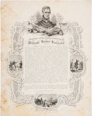 ABSTRACT OF THE PUBLIC SERVICES OF WILLIAM HENRY HARRISON. William Henry Harrison