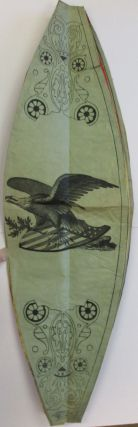 GROVER CLEVELAND AND ALLEN G. THURMAN PRINTED NIGHT PARADE PAPER CAMPAIGN LANTERN.