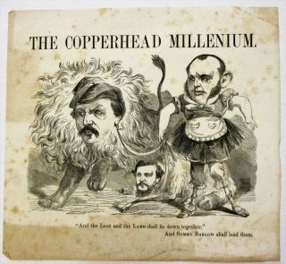 "THE COPPERHEAD MILLENIUM. ""AND THE LION AND THE LAMB SHALL LIE DOWN TOGETHER,"" AND SAMMY BARLOW..."