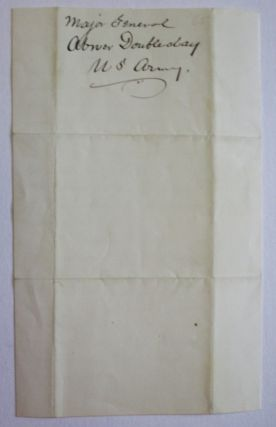 AUTOGRAPH LETTER SIGNED, 7 AUGUST 1882, TO GEORGE BLISS, REGARDING THE BATTLE OF GETTYSBURG.