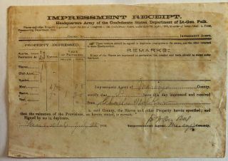 PRINTED DOCUMENT SIGNED BY CAPTAIN WILLARD LINCOLN, COMPANY H, 19TH REGIMENT MAINE INFANTRY...