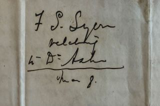 AUTOGRAPH LETTER SIGNED, FROM F.S. LYON OF DEMOPOLIS, TO GOVERNOR A.B. MOORE, 4 MARCH 1861, RECOMMENDING THE APPOINTMENT OF DR. WILLIAM C. ASHE AS SURGEON TO THE REGIMENT WITH RANK OF MAJOR.