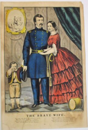THE BRAVE WIFE. George B. McClellan