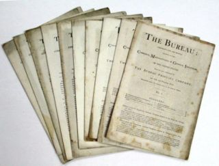 THE BUREAU: (PAMPHLETS FOR THE PEOPLE) DEVOTED TO THE COMMERCE, MANUFACTURES, & GENERAL...